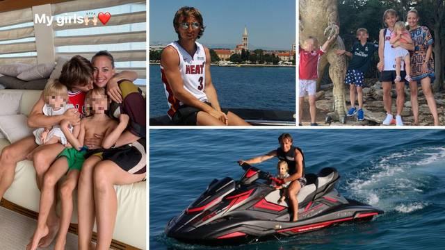 Modrići u Zadru voze jet-ski i plove: Uživam u rodnom gradu