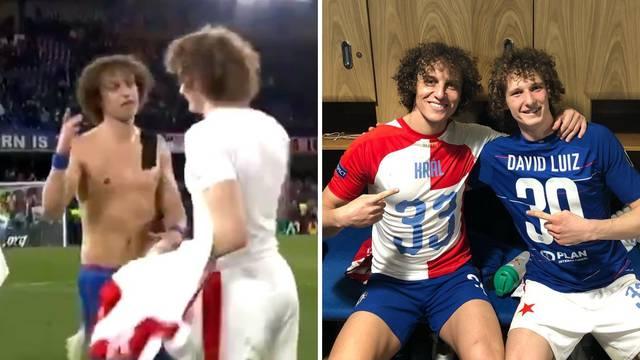 David Luiz poslije utakmice sa Slavijom čestitao 'samom sebi'