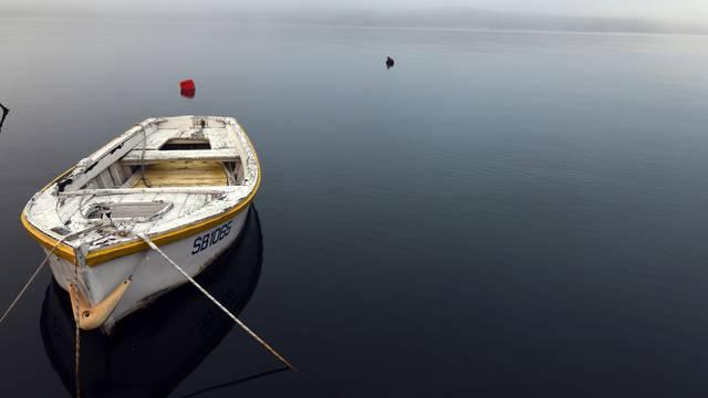 Nesvakidašnji prizori grada Šibenika obavijenog maglom