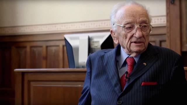 Posljednji nirnberški tužitelj i u stotoj godini širi poruke mira