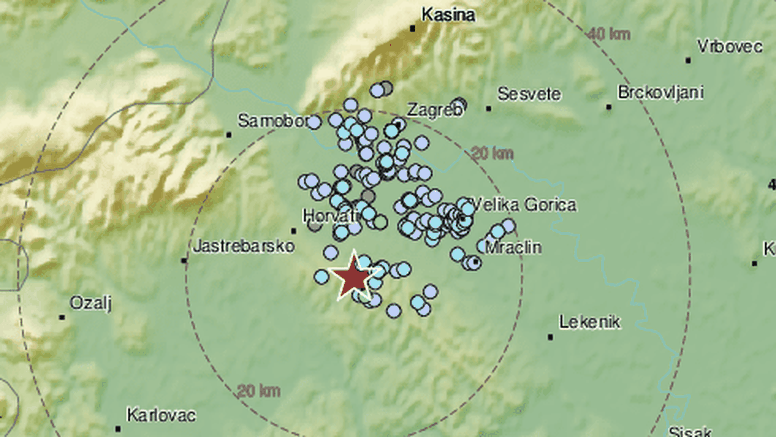 Zatresao slabiji potres u blizini Zagreba: 'Čuo se kao eksplozija'