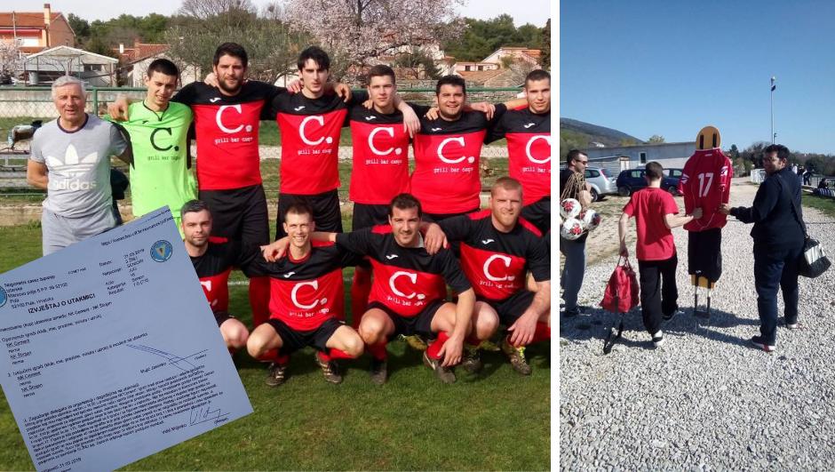 U Istri na teren postavili igrača od kartona, delegat je poludio...