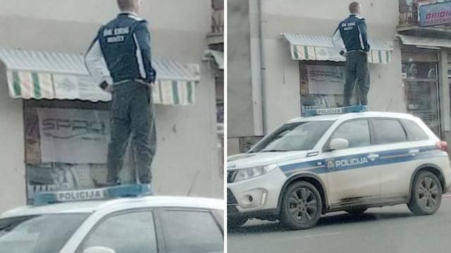 Novska, nedjelja popodne... Policija: Slika je autentična