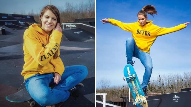 U inat predrasudama: Kraljica skatea  rastura na skateboardu