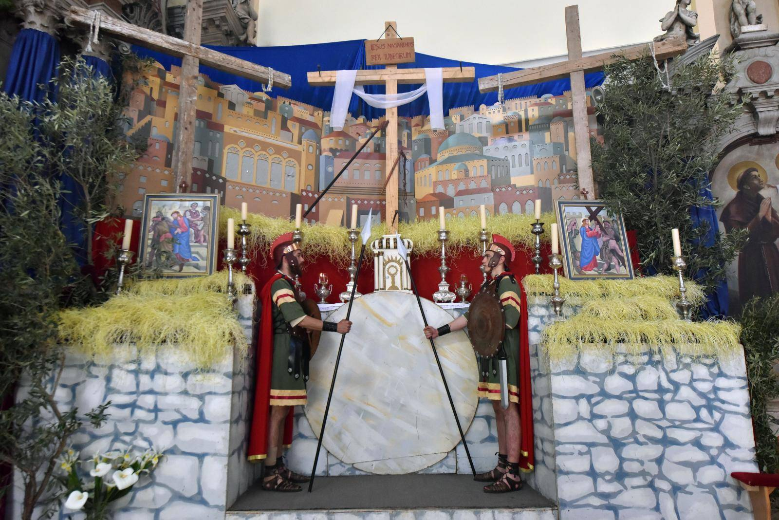 Vodice: Èuvari Isusova groba - tradicija žudija stara više od 100 godina
