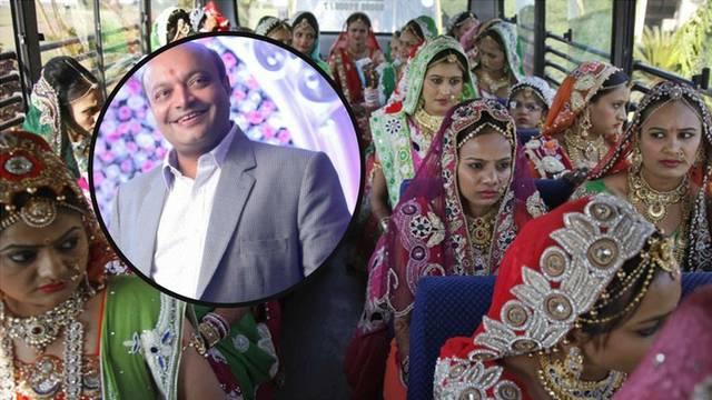 Indija: Platio vjenčanje 251 djevojci