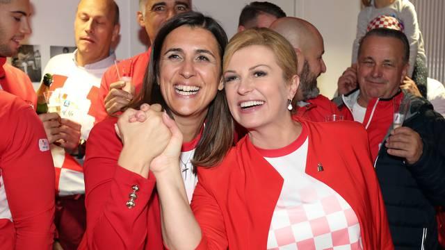 Zagreb: Tenisači osvajanje Davis cupa proslavili s Hrvatskom udugom Lille