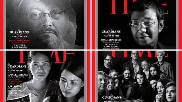 Khashoggi i novinari 'čuvari istine' Timeova osoba godine