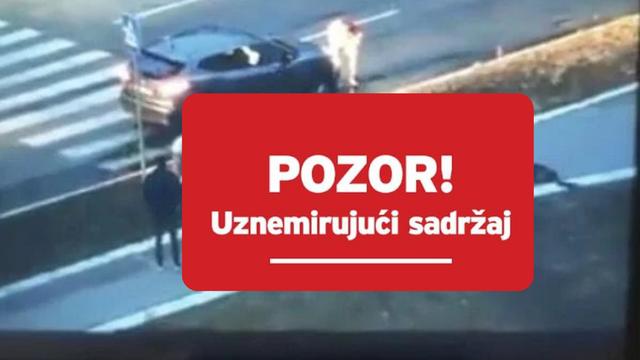 Brutalno nasilje u Beogradu: Mlatio ženu nasred ceste, razbio joj mobitel o glavu i vukao je