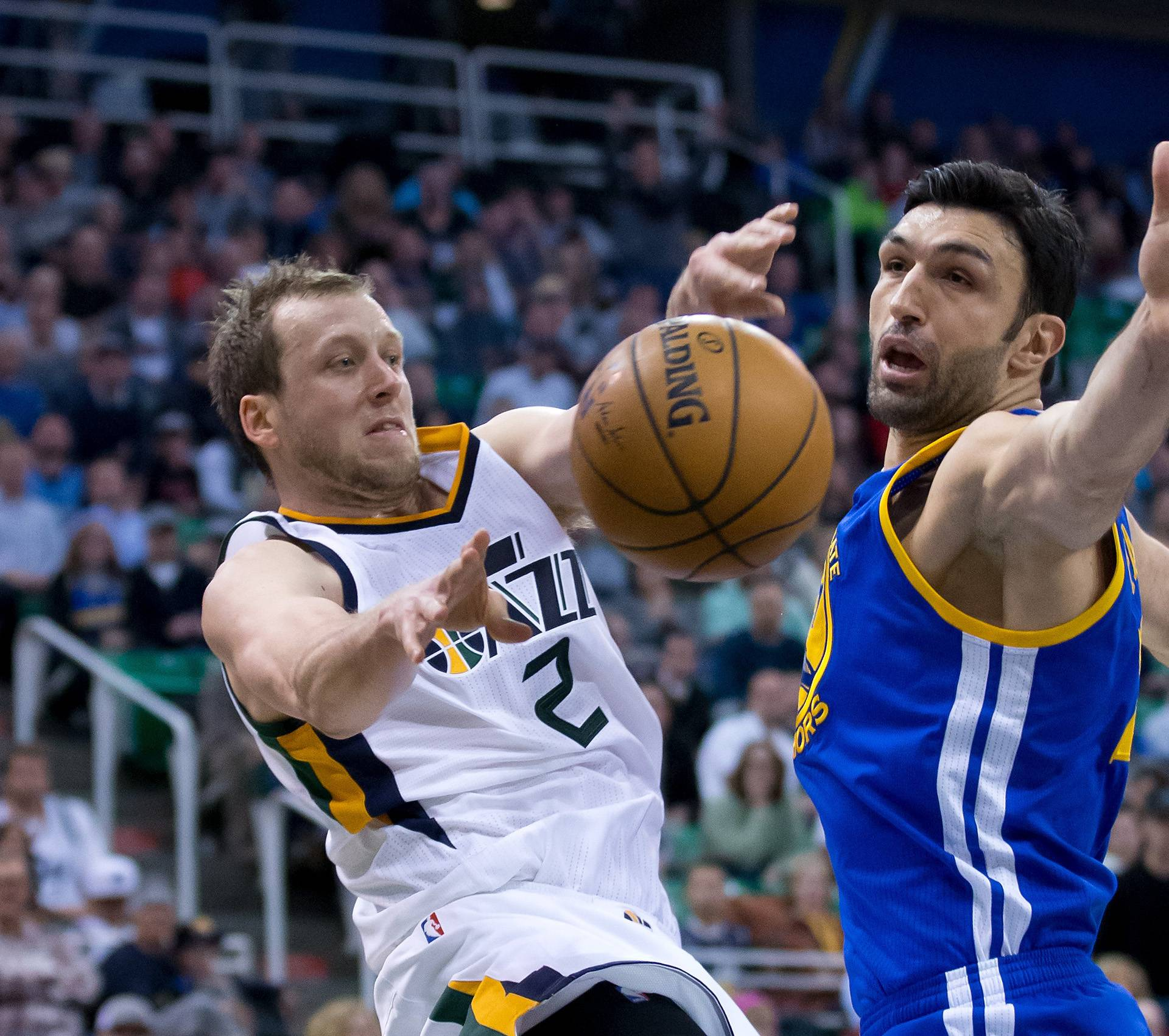 NBA: Golden State Warriors at Utah Jazz