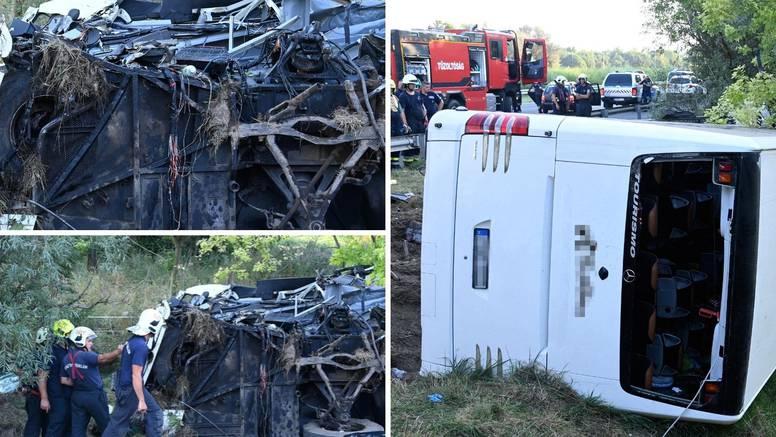 Užas u Mađarskoj: Bus putovao iz Hrvatske i prevrnuo se, osam ljudi poginulo, 40 ozlijeđeno