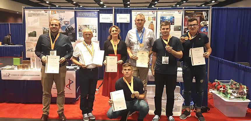 Tri zlatne! Hrvatski inovatori u SAD-u osvojili su šest medalja