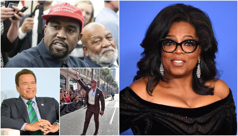 Od mikrofona do Bijele kuće: 8 slavnih koji su postali političari