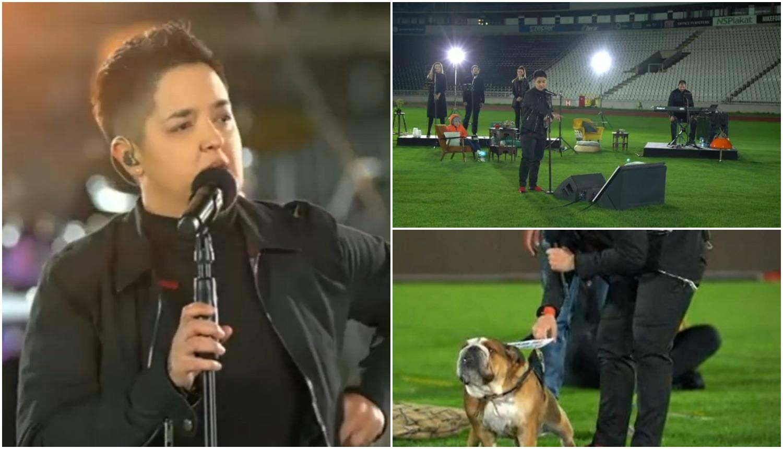 Bez publike na stadionu: Čitala je želje obožavatelja pa pjevala