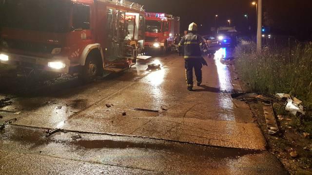 Teška nesreća u Zadru: Poljak prebrzo vozio, troje  ozlijeđenih