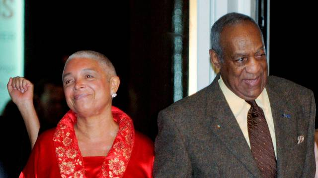 FILE PHOTO: Comedian Bill Cosby and his wife Camille arrive at the Kennedy Center For the Performing Arts in Washington