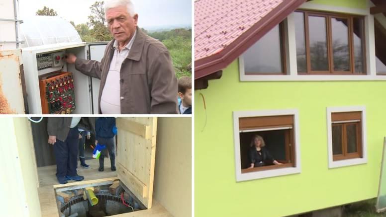 Na granici s Hrvatskom izgradio rotirajuću kuću: 'Žena je htjela uvijek lijep pogled. Eto joj sad'