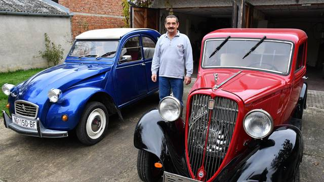 Vrbova: Zdenko Bratek vlasnik je automobila Fiat Balilla iz 1934. godine