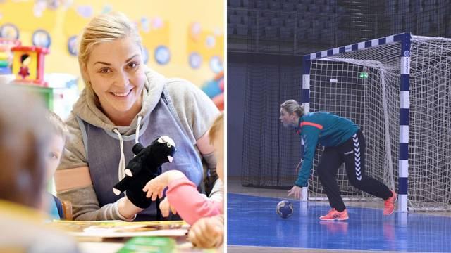 Teta Janja, odgojiteljica u vrtiću i bivša vratarka Koke: 'Izabrala sam najljepši poziv na svijetu'