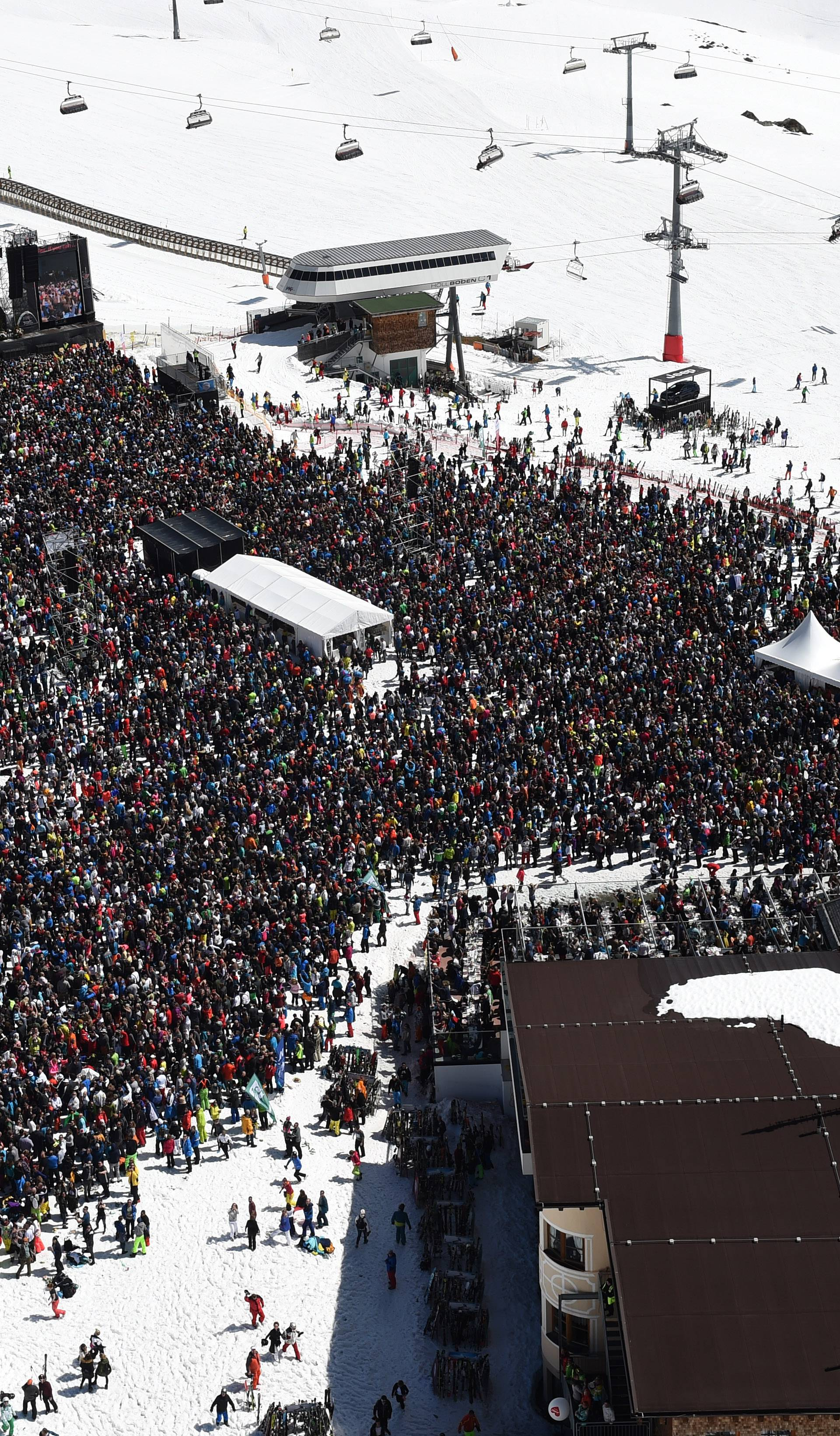 Helene Fischer at Top of the Mountain Closing concert