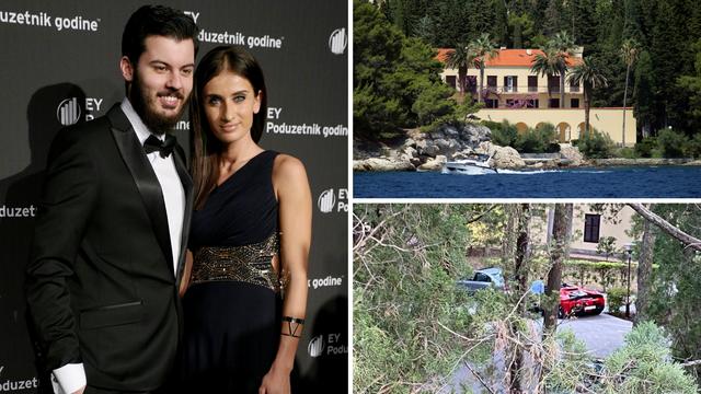 Mate Rimac tajno oženio dugogodišnju curu Katarinu u Vili Dalmacija u Splitu