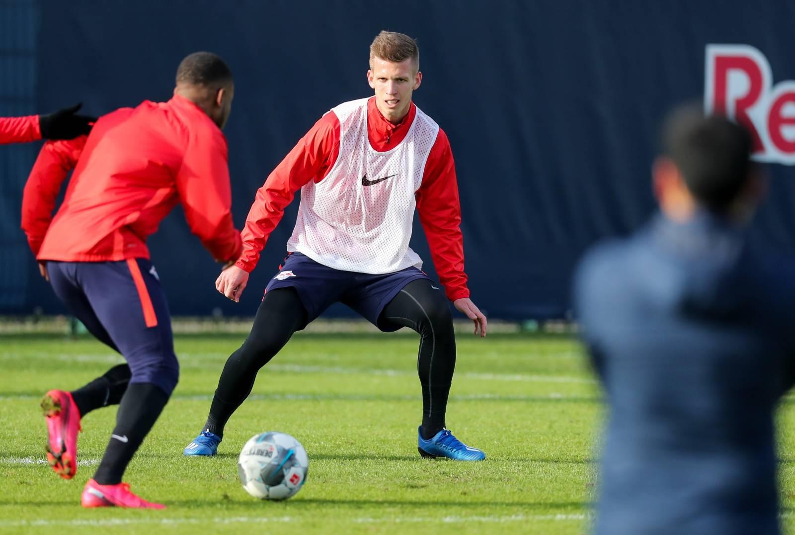 RB Leipzig presents new addition Olmo