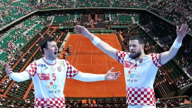 Rukometaši bi 2024. mogli čak zaigrati  na - Roland Garrosu...