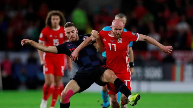 Euro 2020 Qualifier - Group E - Wales v Croatia