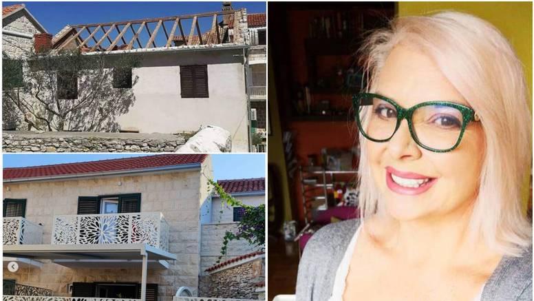 Danijela Dvornik pokazala kako je uredila kuću na Braču: 'Ima nekih grešaka, ali isplatilo se'