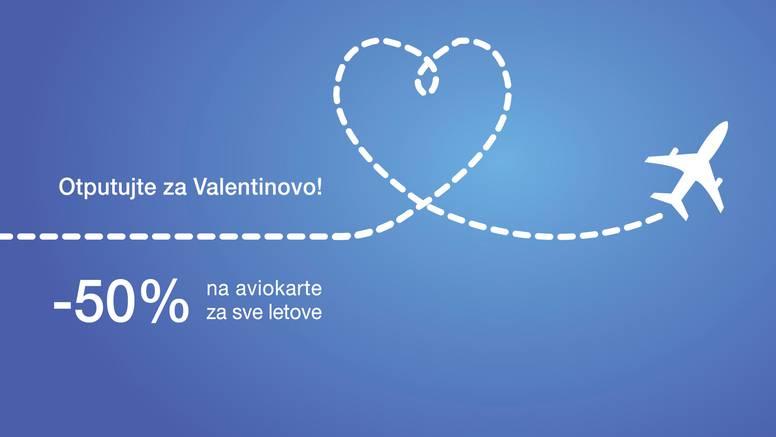Otputujte za Valentinovo uz 50% popusta!