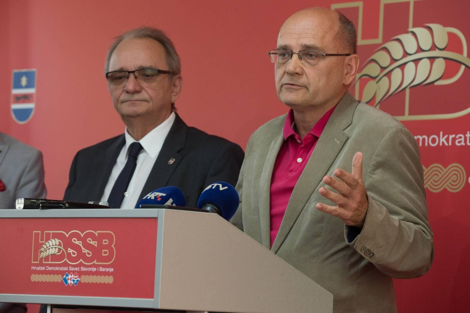 Osijek: HDSSB ne ide na izbore za Europski parlament