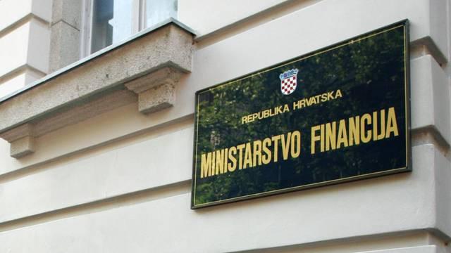 Ministarstvo financija izdalo 313 mil. kn trezorskih zapisa