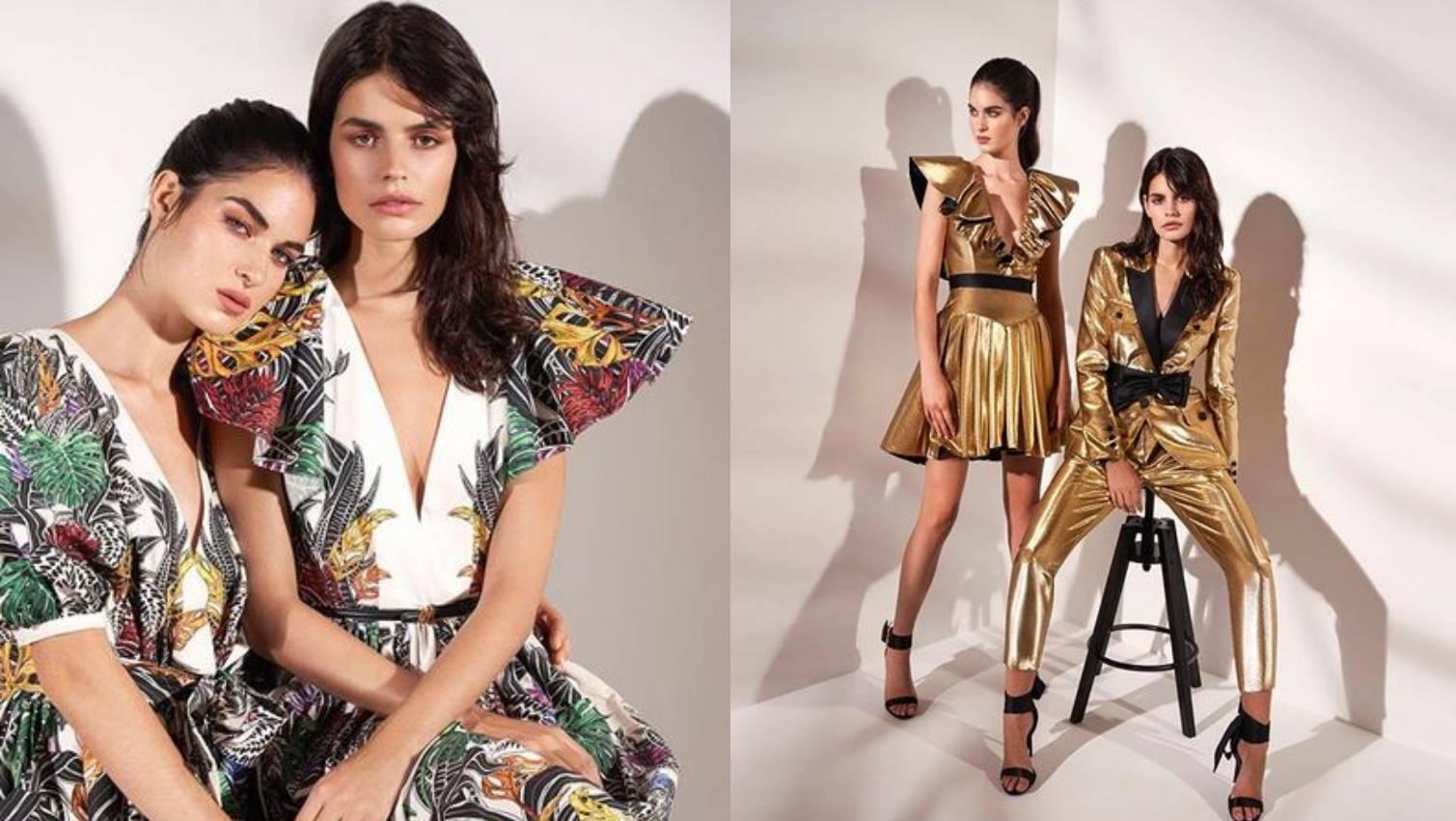Zuhair Murad predlaže zlatna odijela i veliko šareno cvijeće