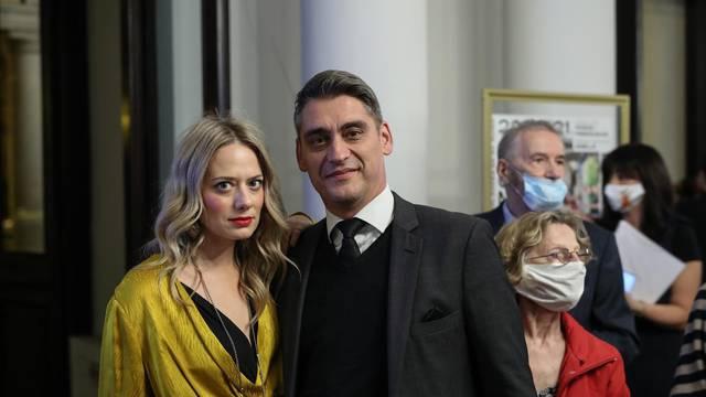 Jelena Veljača i Ivan Gale na koncertu Zagrebačke filharmonije i Dan Browna
