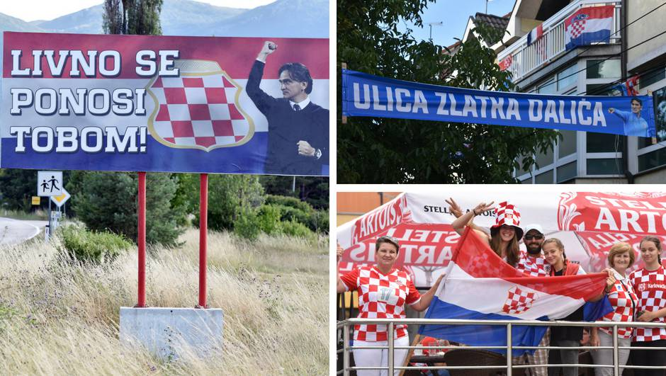 Evo kako se čeka utakmica u rodnom gradu izbornika Dalića