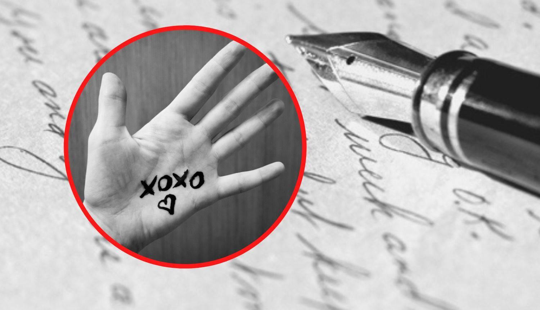 X kao znak poljupca u poruci: Znate li kako je došlo do toga?