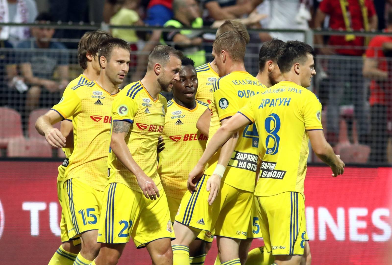 Zenica: FK Sarajevo i FK BATE Borisov u prvoj utakmici 3. petkola Europske lige