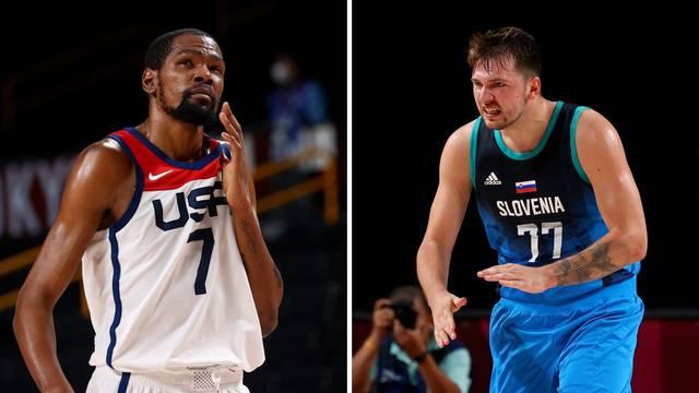 Košarkaški spektakl: Slovenci na Nijemce, SAD na Španjolsku