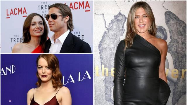 Angelina, Brad Pitt i Jennifer Aniston 'pobjegli' od interneta
