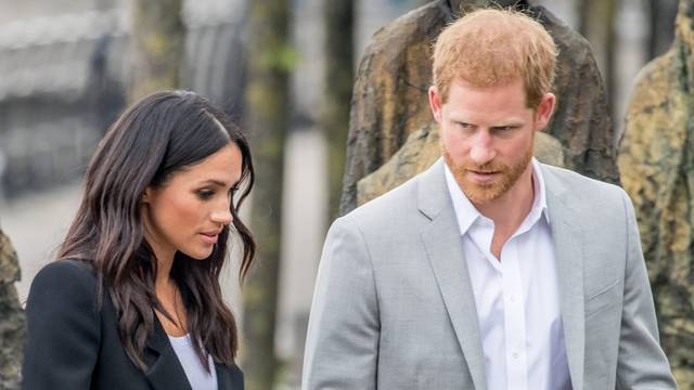 last of a 2 days visit from The Duke and Duchess of Sussex to Dublin    Albert Nieboer / Netherlands OUT / Point de Vue OUT