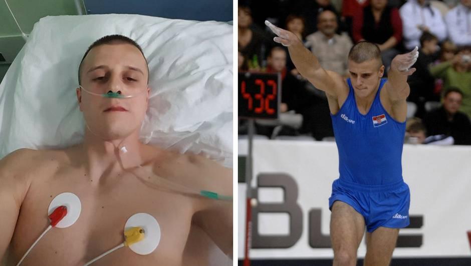 Hrvatskom gimnastičaru stalo srce! Oživljavali ga na treningu