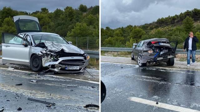 Četvero ljudi u bolnici: Usred tuče na A1 sudarila se tri auta