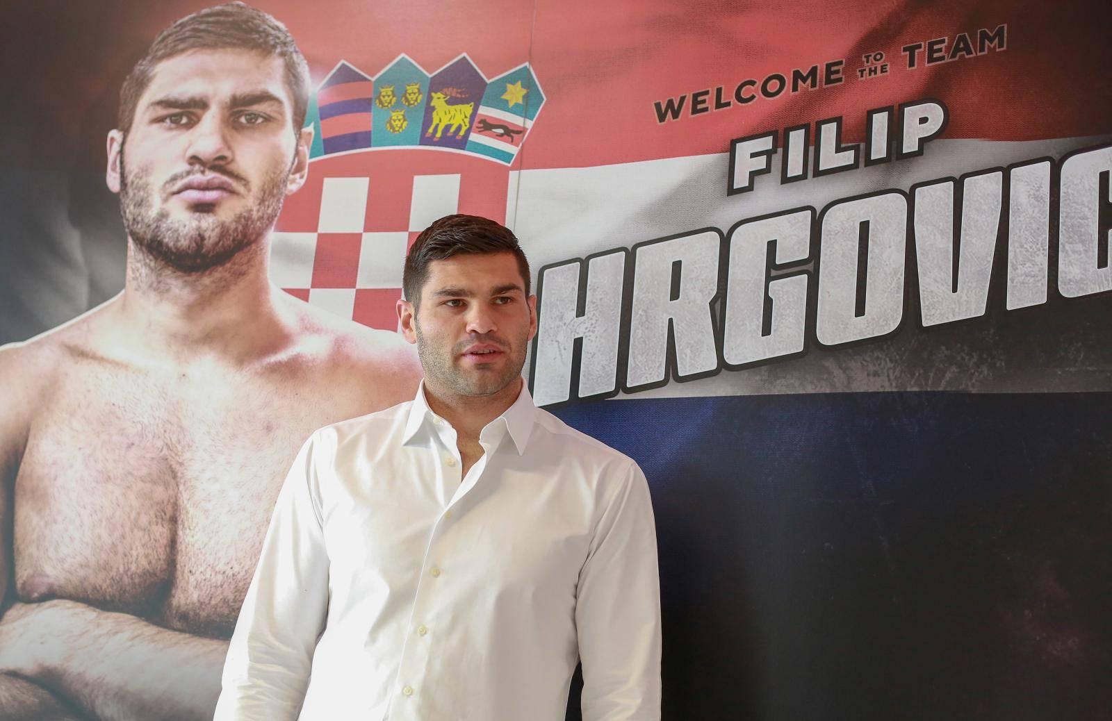 Zagreb: Konferencija za medije Filip Hrgoviæa
