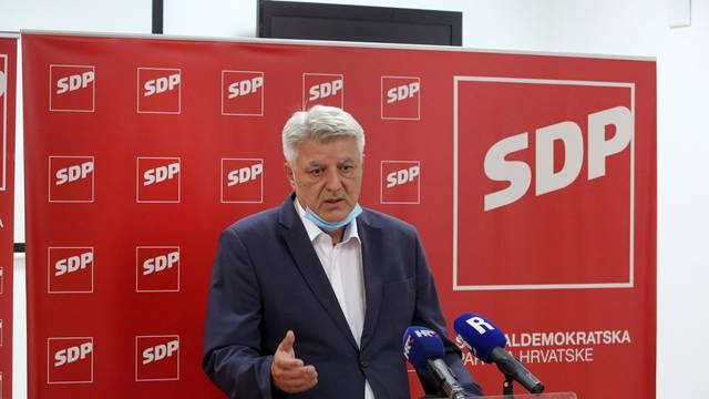 Rijeka: Zlatko Komadina na konferenciji o unutarstranačkim izborima u SDP-u