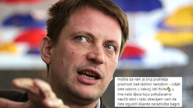 Sukob oko influencera, Matanić ih grubo izvrijeđao: Neradnička bagro, izgubit ćete sve klijente