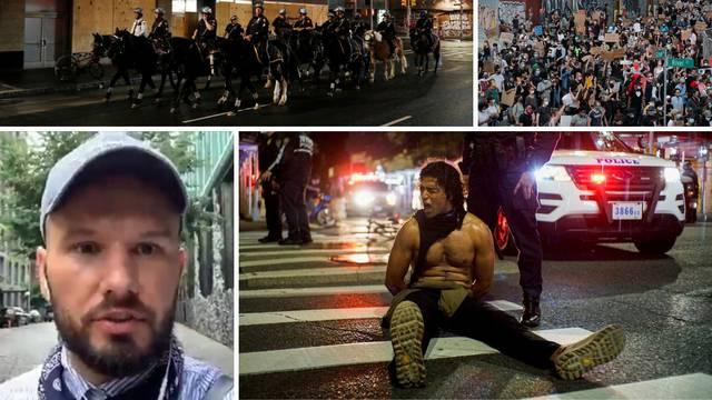 Hrvat na ulicama New Yorka: 'Rasizam je rak rana u SAD-u'