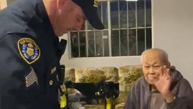 Policajci velikog srca obavili su nabavku za djeda u izolaciji