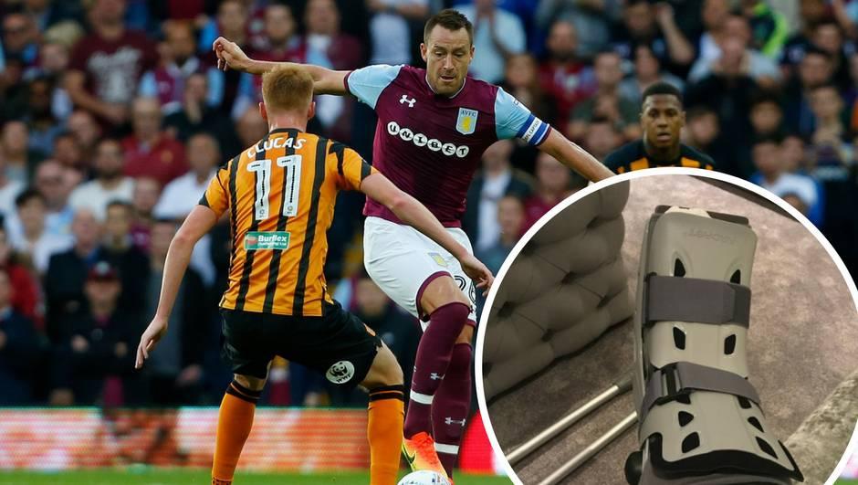 John Terry slomio nogu: Užas, malo je reći da sam potresen