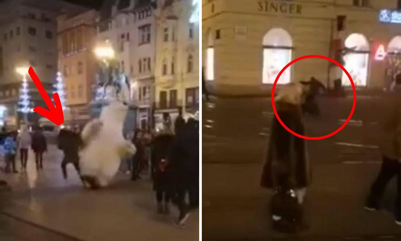 Udario maskotu, dobio nogom u glavu, a sad i prijavu policije