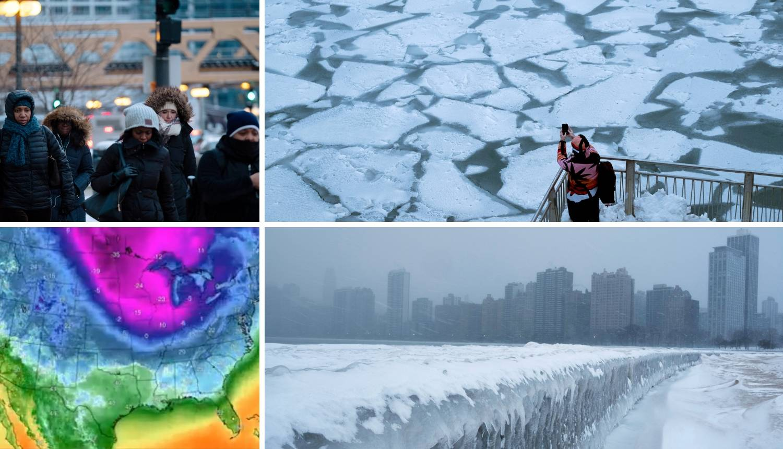 Polarna hladnoća u Americi: U Chicagu hladnije od Antarktike